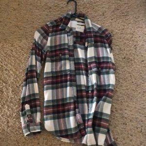 Tops - American eagle flannel